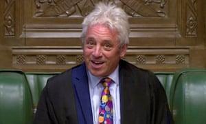 Speaker of the UK House of Commons, John Bercow