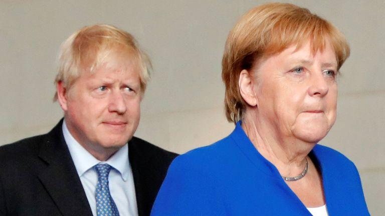 UK, EU, Brexit, Angela Merkel, Boris Johnson, Brexit,