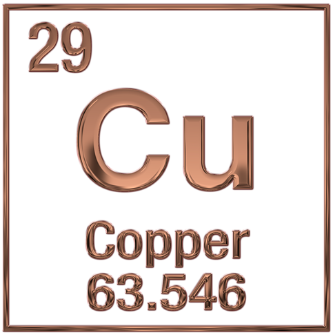Copper symbol